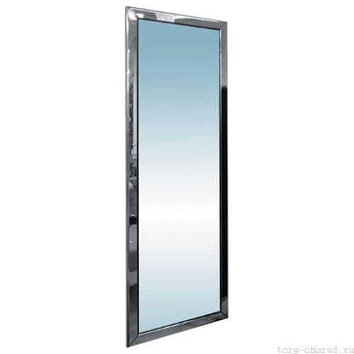 Зеркало настенное, нерегулируемое, в полный рост, 1600х550мм, цвет хром. - MD-ST028